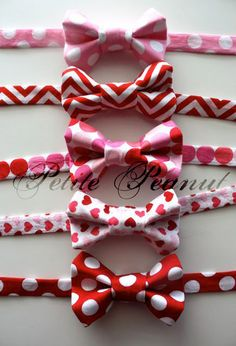B needs a bowtie for Valentine's Day & some matching suspenders too!Little Guy VALENTINE Bow Tie  Sweetheart by petitepeanut on Etsy