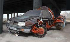 Car concept-1, Kdyrov Daniyar on ArtStation at https://www.artstation.com/artwork/aE3V0