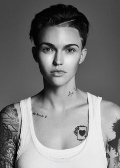 THE MOST GORGEOUS HUMAN BEING IN THE WORLD!!!!!!!   Ruby Rose! ❤️