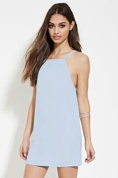 FOREVER 21 square-neck cami mini dress - $14.90