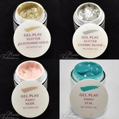 New Akzentz Gel Play Colors for 2015
