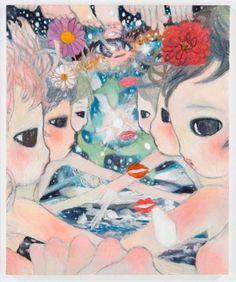 Aya Takano, 2013 © Aya Takano/Kaikai Kiki Co. All Rights Reserved… Kunst Inspo, Art Inspo, Art And Illustration, Illustrations, Aya Takano, Japanese Contemporary Art, Superflat, Curious Creatures, Japanese Artists
