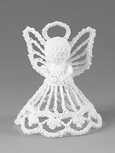 Seasonal Crochet Patterns - Itty Bitty Angels