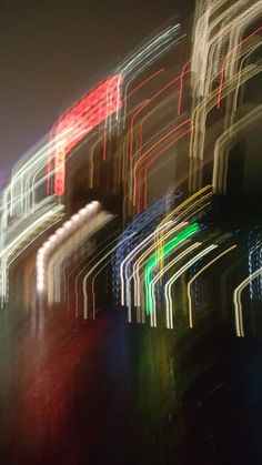 Blurry London oxo tower