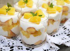 Tiramisu cu ananas - Tiramisu fara oua - Desert De Casa - Maria Popa Tiramisu, Sweets Recipes, Panna Cotta, Cheesecake, Food And Drink, Pudding, Homemade, Ethnic Recipes, Cakes