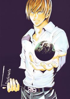 """Light Yagami """"I've got the whole Earth in the palm of my hand"""""""