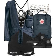 Outfit for university with converse