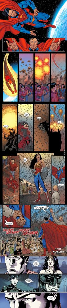 There are millions of people dying, so Superman killed thousands to save the rest. It will all come to Perspective....