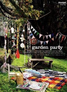 You Should Be ingrid bergman: Garden party