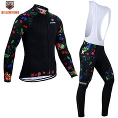 44.99$  Buy here - http://alirwc.worldwells.pw/go.php?t=32733935922 - Siilenyond Brand Winter Thermal Fleece Cycling Wear Cycling Jerseys Set  Winter Maillot Bicycle Wear Ropa Ciclismo 44.99$