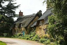 Cotswold cottages. near to Hidcote Boyce, Gloucestershire