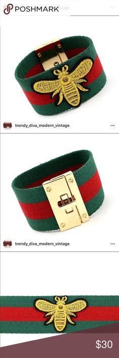 G Bee cuff bracelet G Bee cuff bracelet Gucci Jewelry Bracelets