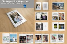 Photography Magazine Template 20 pages  by TemplateStock on Etsy