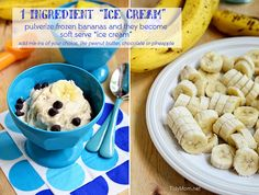 1 Ingredient Ice Cream - learn how to make it at TidyMom.net
