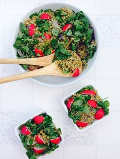 Have you tried Freekeh yet? It is delicious green roasted wheat with a chewy texture. It boasts 4 times more protein and fiber than brown rice and is full of nutrients. It has nutty and kind of smokey flavour. Here is my simple and delicious Freekeh salad to get you started.