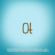 Ot (Voor meer inspiratie, en unieke geboortekaartjes kijk op www.heyboyheygirl.nl)