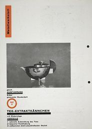 Herbert Bayer, Bauhaus Corporate Identity, 1925