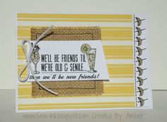 Sew cute card with Canvas Corp