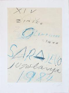 Cy Twombly, 'Sarajevo,' 1984, Lenox Fine Art