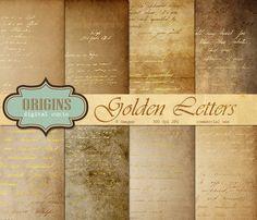 Spell Book Digital Papers by Origins Digital Curio on @creativemarket