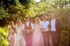 Wedding. Summer evening light. Rebecca Roundhill Photography.