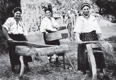 ukranians preparing hemp 1912