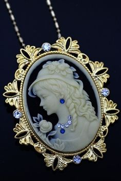 Antique Inspired Lovely Cameo