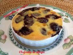 Clafoutis di ciliegie con crema frangipane  porzioni individuali