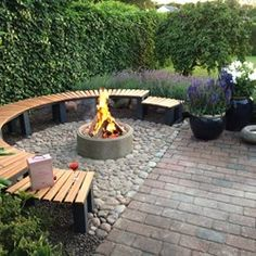 Fire Pit Area, House Landscape, Fire Pit Backyard, Outdoor Living, Outdoor Decor, Dream Life, Hygge, Home Accents, Patio