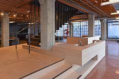 Affordable warehouse/showroom design.
