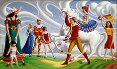 An poster sized print, approx (other products available) - The Rehearsal Luke, John Date: 1950 - Image supplied by Mary Evans Prints Online - Poster printed in the USA Artwork Prints, Poster Size Prints, Fine Art Prints, Framed Prints, Canvas Prints, John Luke, Horse Posters, Art Uk, National Museum