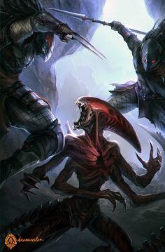 Neomorph alien vs predators