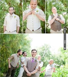 very dapper! groomsmen in different vests for wedding | CHECK OUT MORE IDEAS AT WEDDINGPINS.NET | #bridesmaids