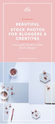 Where to find beautiful & unique stock photos for bloggers and creatives…everything from styled stock images to scenes from nature. www.CGScreative.com
