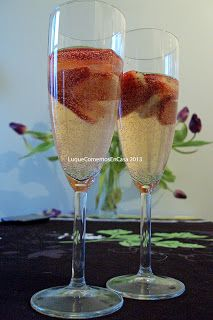 ¡¡¡Mimosa!!! Champaña con fresas