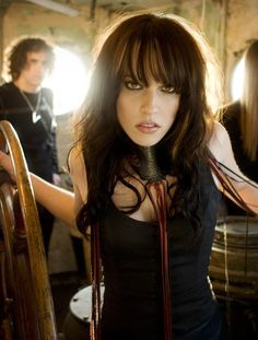 Lzzy Hale of Halestorm - Her voice is awesome!
