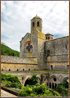Fontfroide Abbey or l'Abbaye Sainte-Marie de Fontfroide is a former Cistercian monastery in France near Narbonne. It was founded in 1093, and was dissolved in 1791 during the course of the French Revolution. by JFS