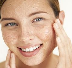 Have you ever noticed those flaky patches on your skin, especially your nose? ...DIY Fix Mix together 2tbs of Sugar, 1tbs of Honey and 1tsp of Olive Oil. This mixture removes all the dead skin with the sugar, and the honey and olive oil will nourish your skin to the fullest, no matter the skin type. Just be careful to scrub gently
