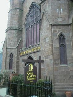 "Boston - Salem Witch Museum - got ""wicked"" in here."
