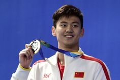 This is Ning Zetao. | People Can't Stop Talking About This Hot Olympic Swimmer - BuzzFeed News