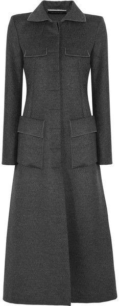 Roland Mouret Coats for Women Stylish Coat, Best Wear, Roland Mouret, Grey Fashion, Fashion Fabric, Coat Dress, Winter Wardrobe, Trench, Retro