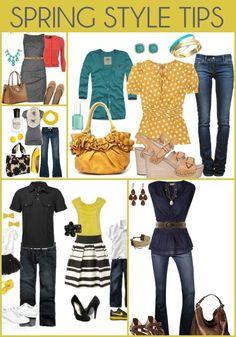 Spring Style Tips { lilluna.com }