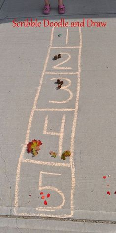 Counting with objects from nature