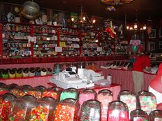 The best candy store ever! Hayward,WI Cookies n cream fudge ball! The Places Youll Go, Places Ive Been, Places To Go, Vacation Memories, Vacation Spots, Rv Travel, Summer Travel, Hayward Wisconsin, Great Lakes Region