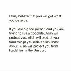Allah always protects us. Wel Neam Be Allah Islamic Qoutes, Islamic Inspirational Quotes, Muslim Quotes, Religious Quotes, Love In Islam Quotes, Allah Quotes, Quran Quotes, Words Quotes, Life Quotes