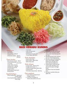 Nasi kerabu kuning