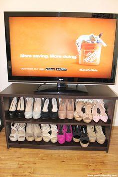 Shoe Organization made easy.