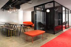 Efima Office interior design by Sistem Interior Architects / Helsinki