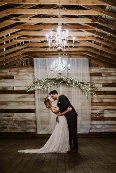 Dreamy autumn barn wedding inspiration | Image by Swak Photography