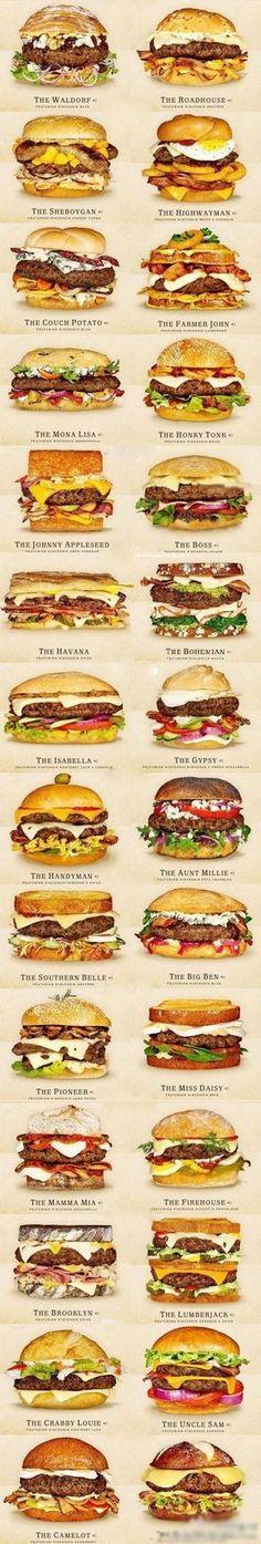 50 tons de hambúrguer